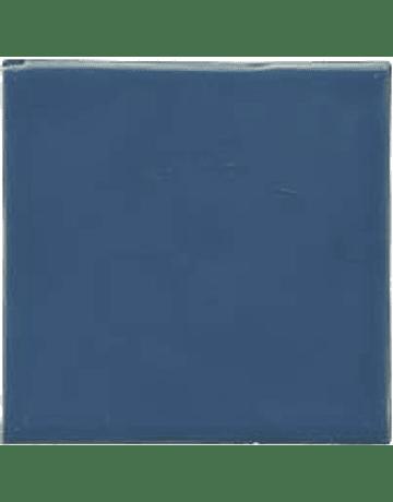 Carrelage à la main - Couleur bleu moyen
