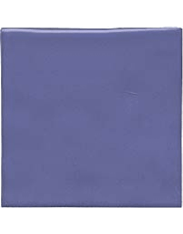 Handmade Ceramic Tile - Color Blue Purple
