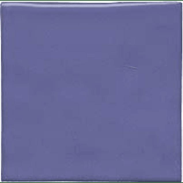 Azulejo feito à mão - Cor  Azul Arroxeado