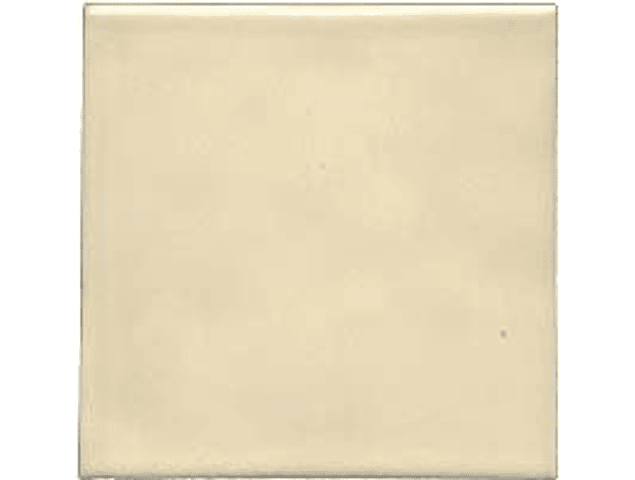 Handmade tile - Color Cream