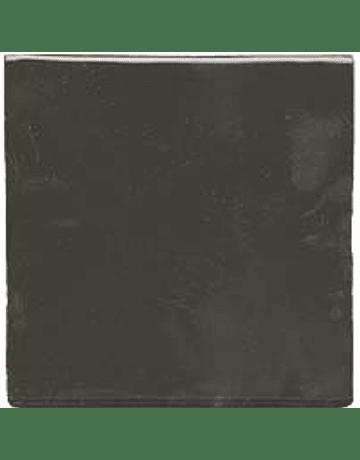 Carreau de céramique fait à la main - Couleur gris foncé