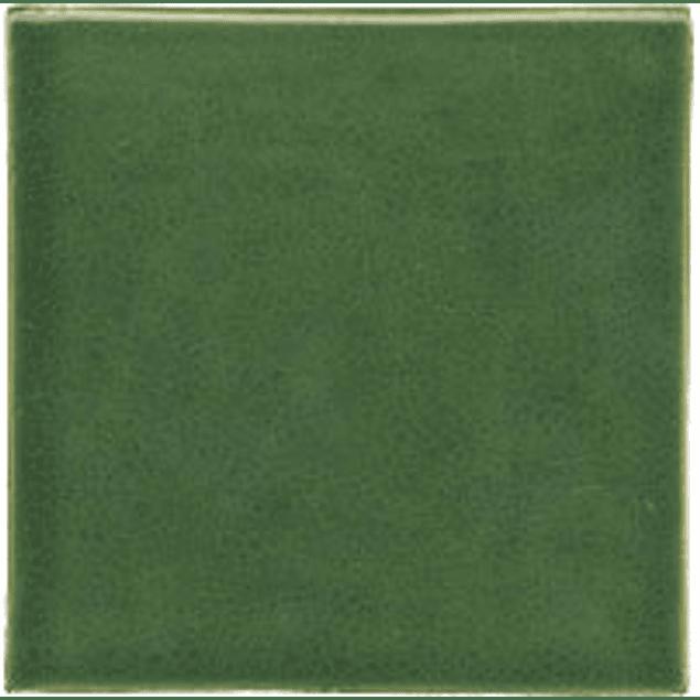 Azulejo feito à mão - Cor  Verde Medio