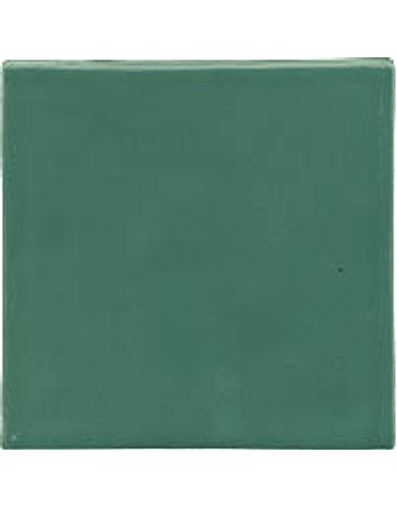 Carreau fait à la main - Couleur Jade vert