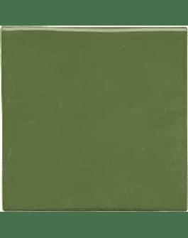 Handmade Tile - Color Green Leaf
