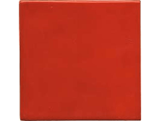 Handmade Tile - Color Red