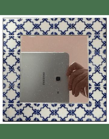 Espelho Med. Quadrado - Dec. 1