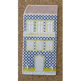 PORTA CHAVES Casinha de Lisboa na Vertical