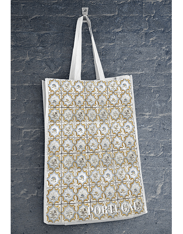 Eco Tote Bag - Portuguese Tile III