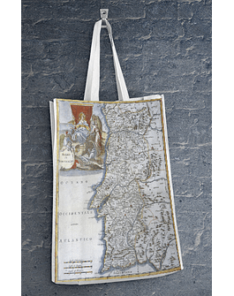 Sacola Eco - Old Portugal Map