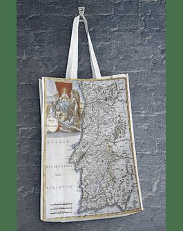 Sacola Eco - Mapa Antigo Portugal
