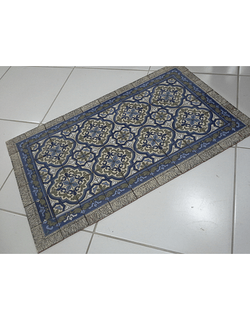 Floor tile Blue 1