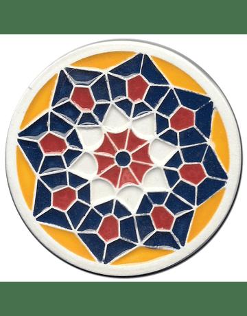 Ceramic Coaster VI