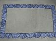 Moldura I em azulejos recortados artesanais