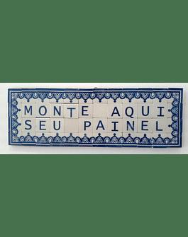 Mini Azulejo em Placa 9,5x29cm