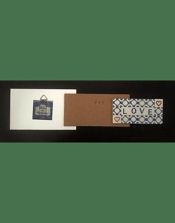 Mini Tile in Plate 9,5x29cm