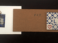 Mini Tile in Plate 12x17cm