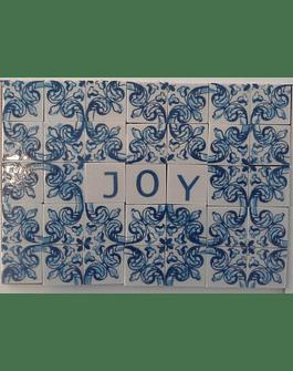 Mini Azulejo em Placa 12x17cm