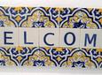 Mini Azulejo em Placa 7x21cm