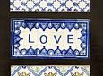 Mini Azulejo em Placa 7x14,5cm