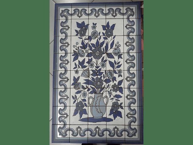 Tile Panel Flower Vase 1