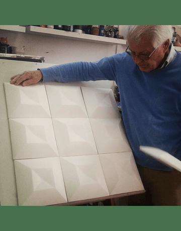 3D Special Tiles - Diamond Point