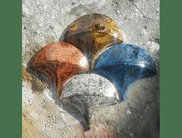 3D Azulejos Especiais -  Escamas