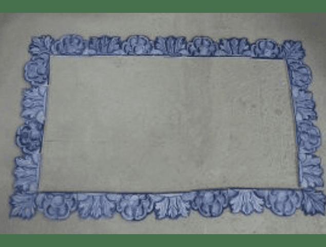 Frame I - handmade cut tiles