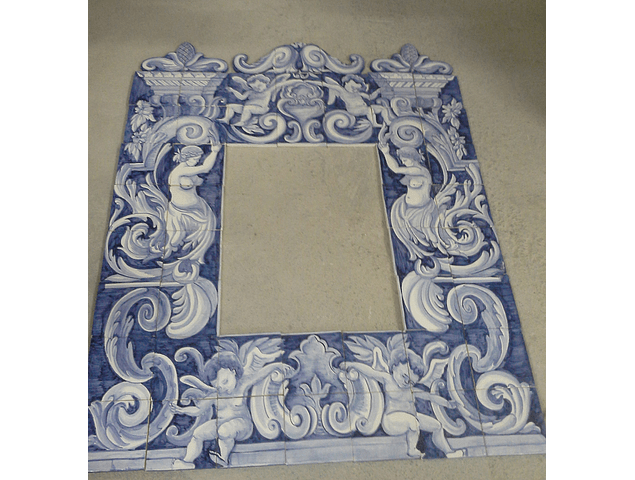 Double frame in tile Panel