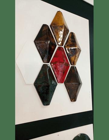 Tuiles spéciales 3D - Rhombus