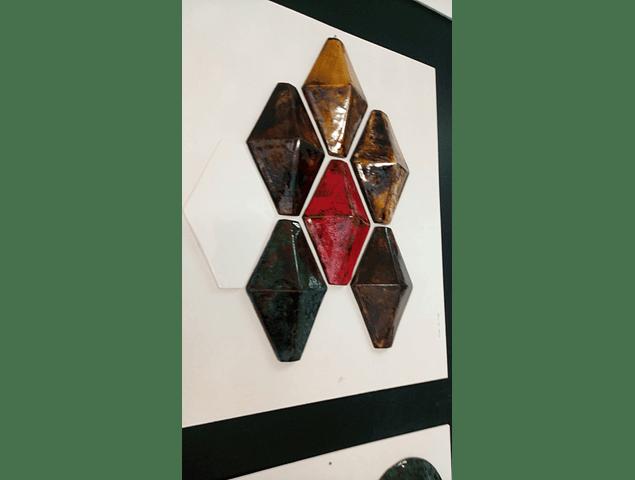 3D Azulejos Especiais -  Losangos