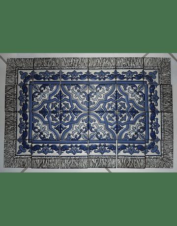 Tapete em azulejos Sobradinho para piso