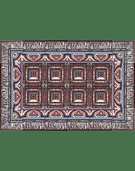 Tile Rug - Diamond Tip