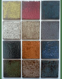Azulejo 10 x 10 rústico colores