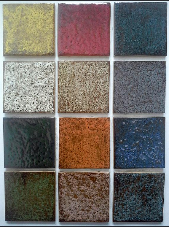 Carrelage 10 x 10 couleurs rustique for Carrelage traduction