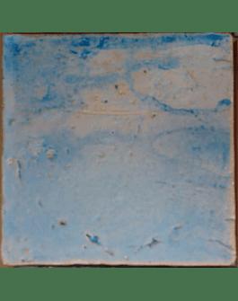 """Piso cerâmico """"Memórias"""" Linha de Azulejos Rústicos - Aguarela"""