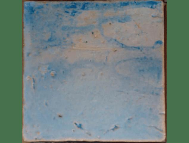 """Ceramic floor """"Memories"""" Rustic Tile Line - Watercolor"""