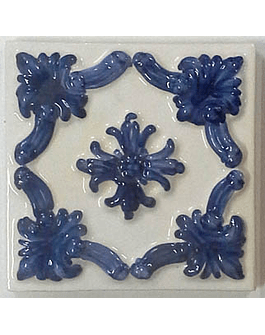 "Embossed tile 15X15CM RESTORATION ""Porto"""