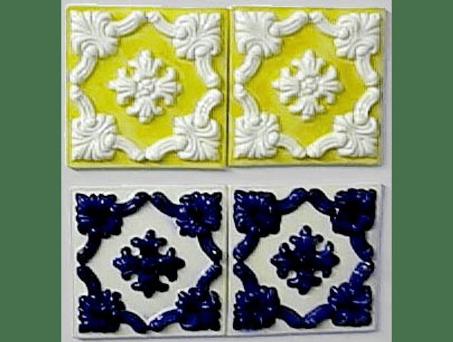 Azulejo RESTAURO 15X15CM em Relevo