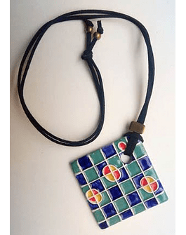 "Necklace ""Tiles and Mandalas"" I"