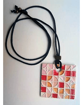 "Necklace ""Tiles and Mandalas"" II"