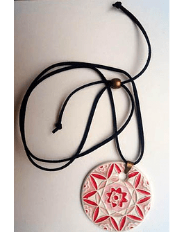 "Necklace ""Tiles and Mandalas"" V"