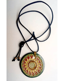"Necklace ""Tiles and Mandalas"" VI"