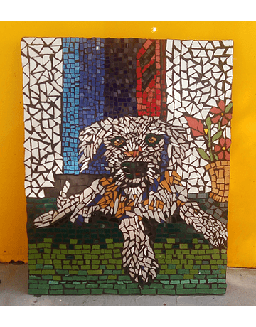 "Kit - DIY - DIY - Mosaic ""Dog"" 34x26cm"