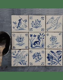 Kit - Faça você mesmo - Pinte Azulejos Portugueses
