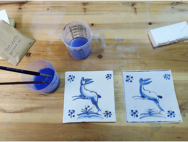 Kit - Do it yourself - Paint Portuguese Tiles