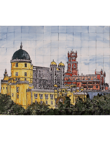 Panel PENA PALACE colored
