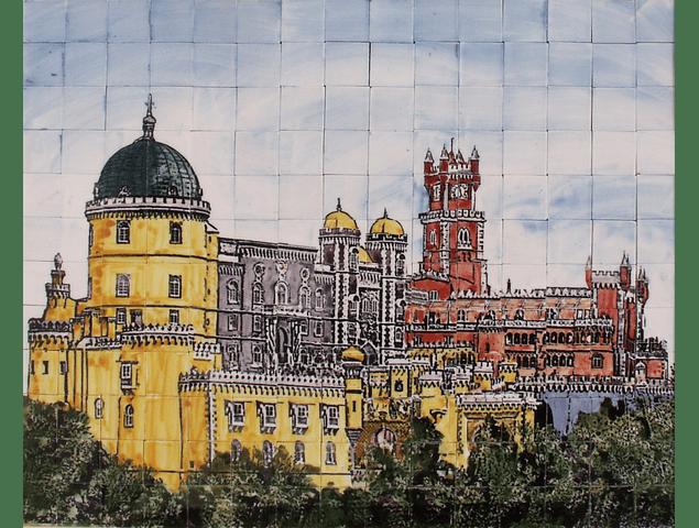 Painel PALÁCIO DA PENA  colorido
