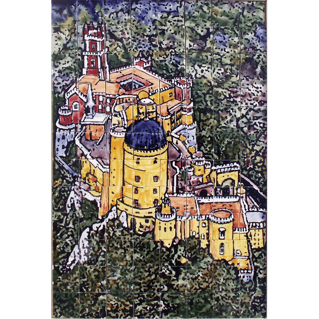 PUZZLE IN CERAMIC - PALÁCIO DA PENA Small - colorful - PROMOTION