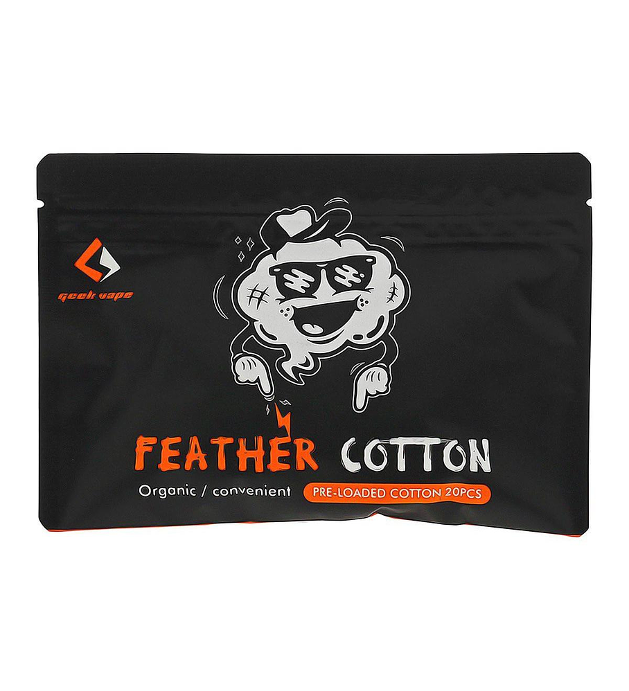 GeekVape Squares of Feather Organic Cotton