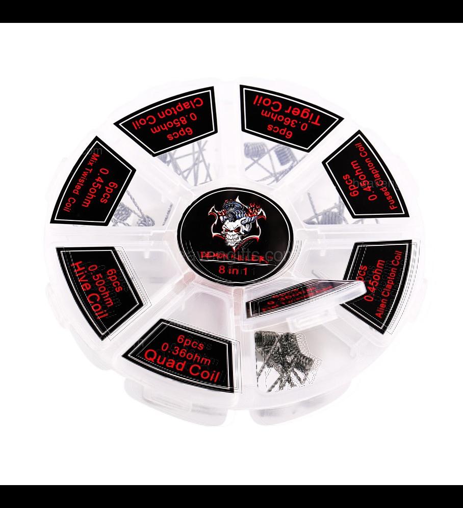Demon Killer 8 in 1 Coil Kit 48pcs